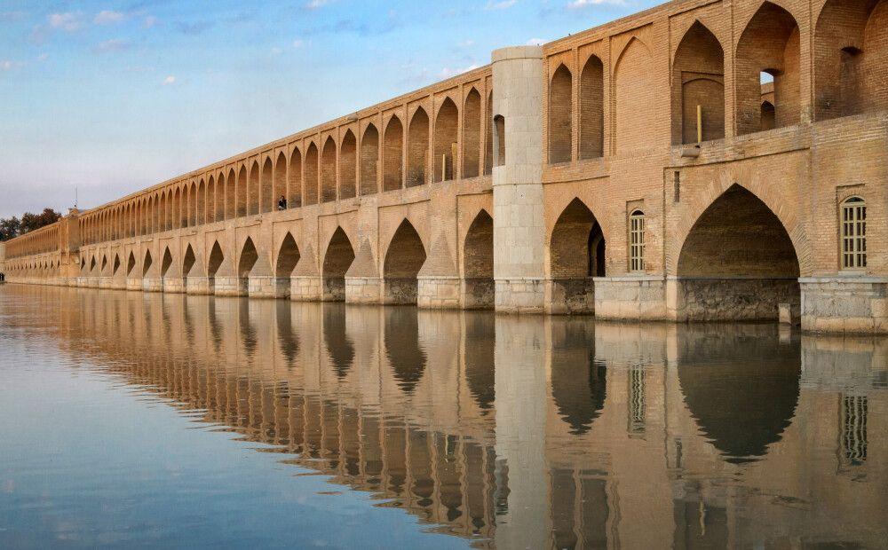 Die 33-Bogenbrücke in Isfahan
