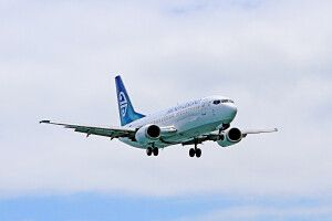 Unterwegs mit der Air New Zealand
