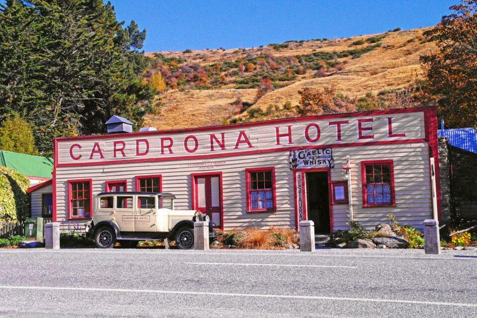 Das legendäre Cardrona-Hotel auf der Südinsel Neuseelands