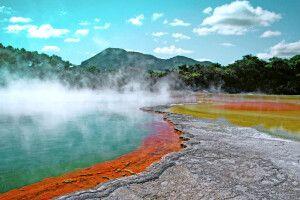 Die heißen Quellen von Rotorua