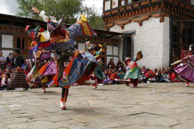 Klosterfest Bumthang