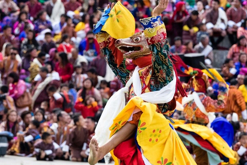 Klosterfest Thimphu