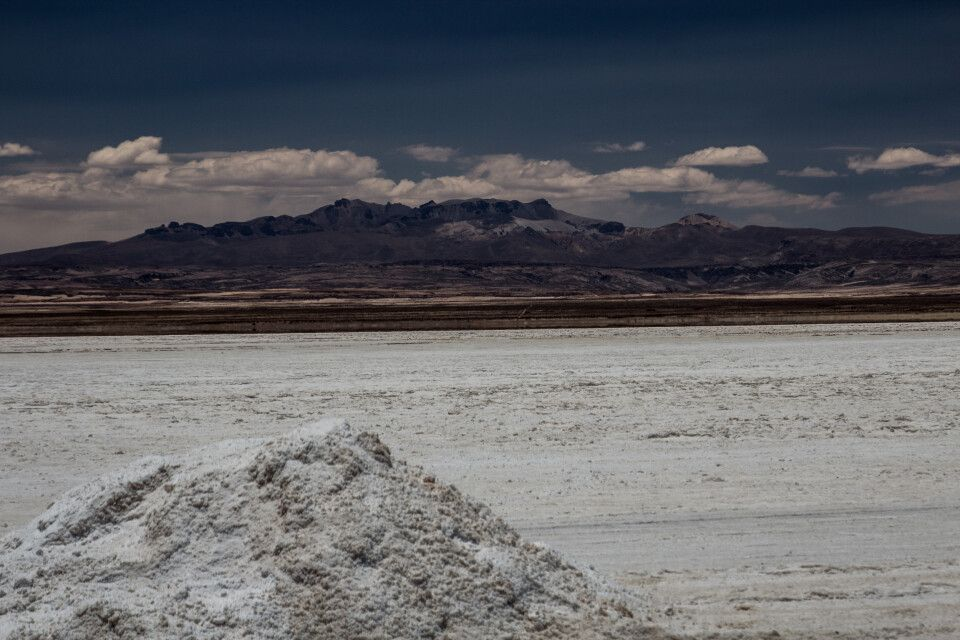 Salzabbau in der Atacama Wüste