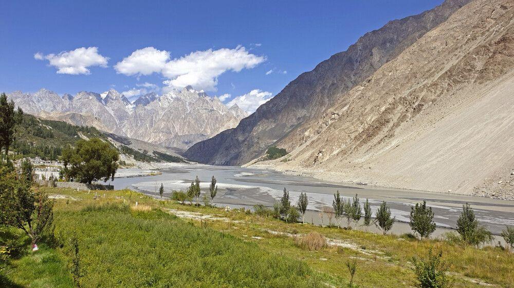 Landschaft bei Gulmit Pakistan