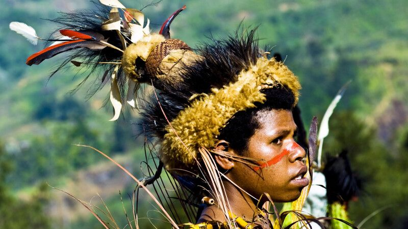 Junger Novize beim Kalam-Festival © Diamir