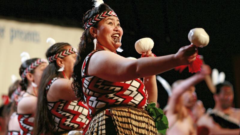 Typische Tänze der Maori © Diamir