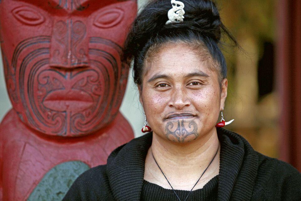 Gesichtsbemalung der Maori