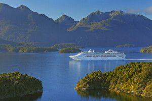 Auf dem Schiff durch den Marlborough Sound, Fiordland