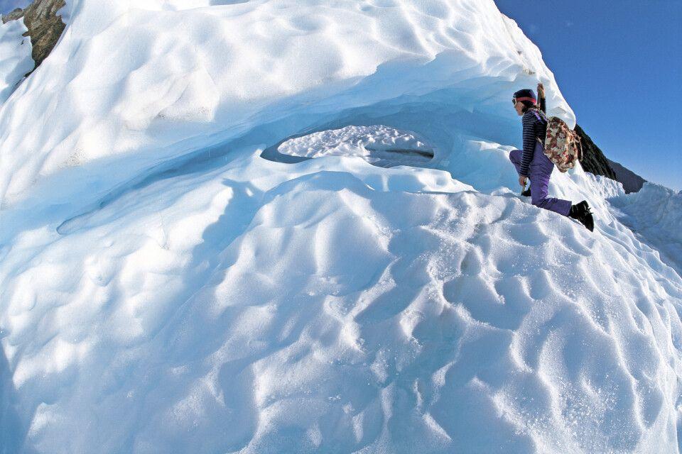Auf dem Fox-Gletscher
