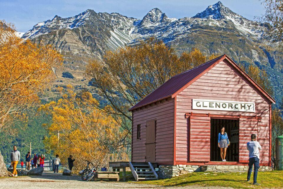 Glenorchy ist eine kleine Siedlung am nördlichen Ende des Lake Wakatipu auf der Südinsel nahe Queenstown