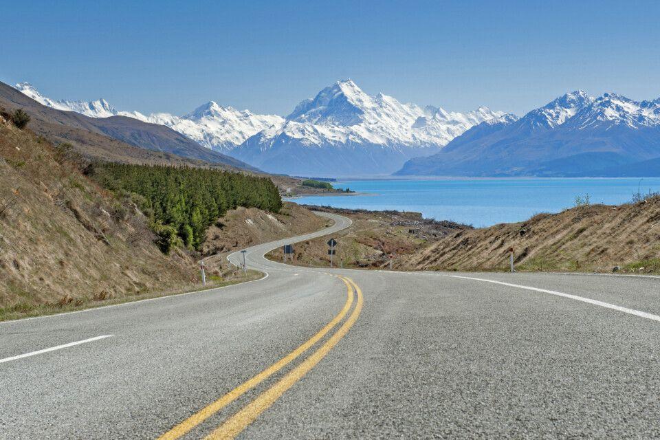 Der beeindruckende Mt. Cook – mit dem Mietwagen durch Neuseeland