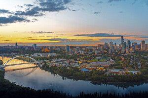 Skyline von Edmonton