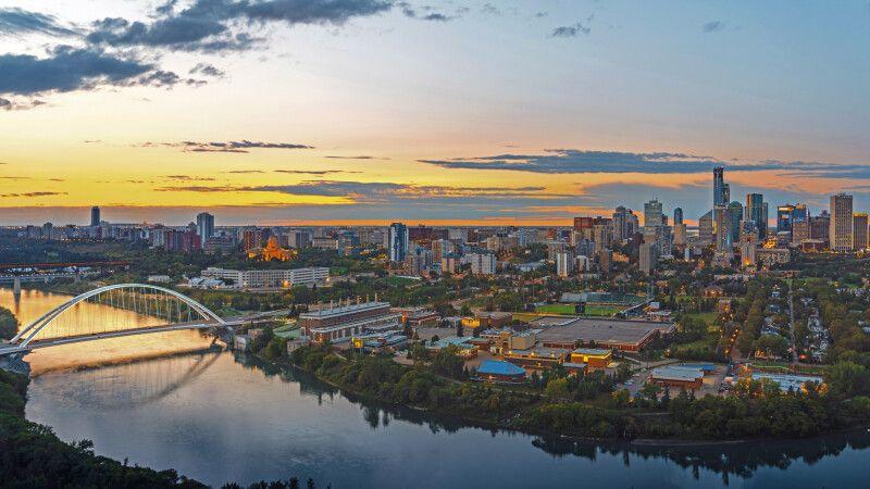 Skyline von Edmonton © Diamir