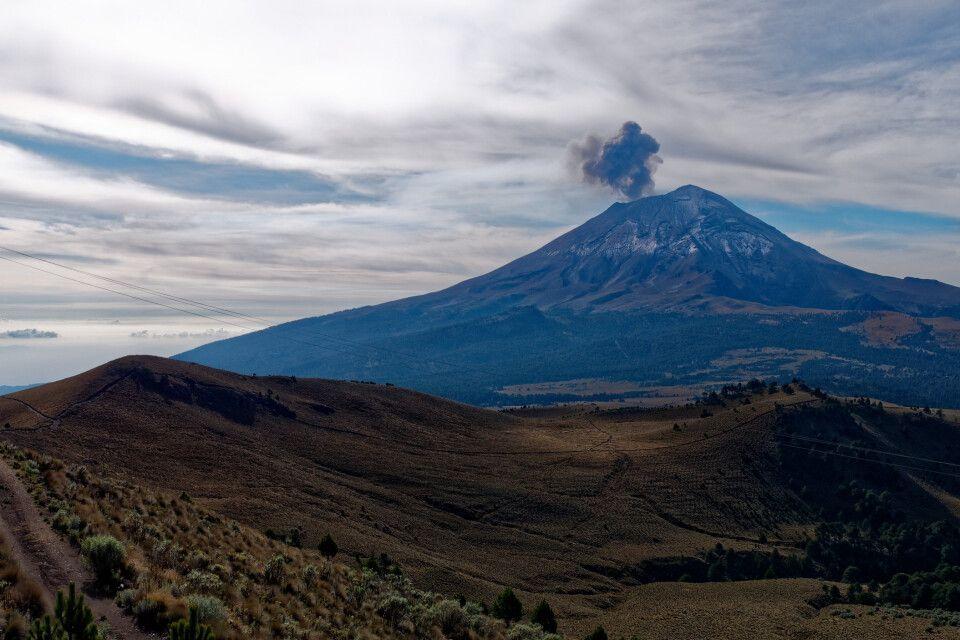 Aussicht Popocatepetl