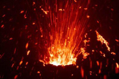 DANAKIL Reisebericht Ulrike Almer - Vulkaneruption