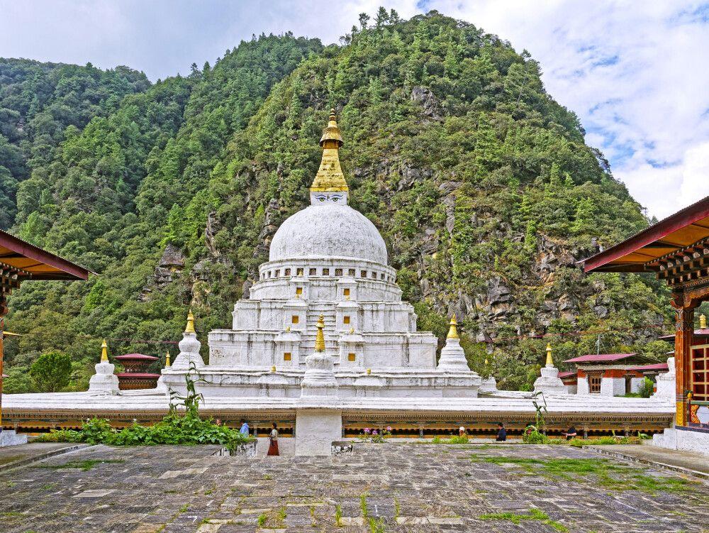 Stupa Chörten Kora in Trashiyangtse