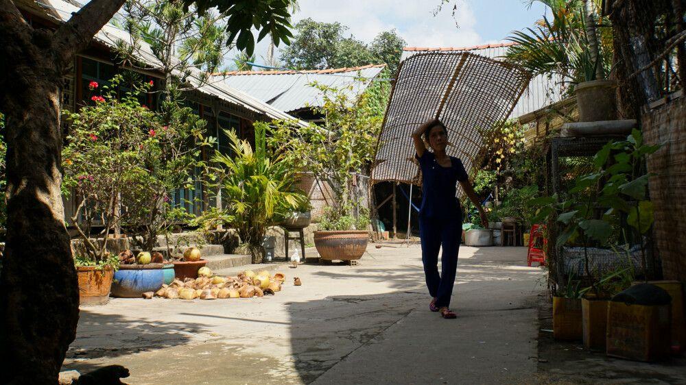 Landleben im Mekong Delta