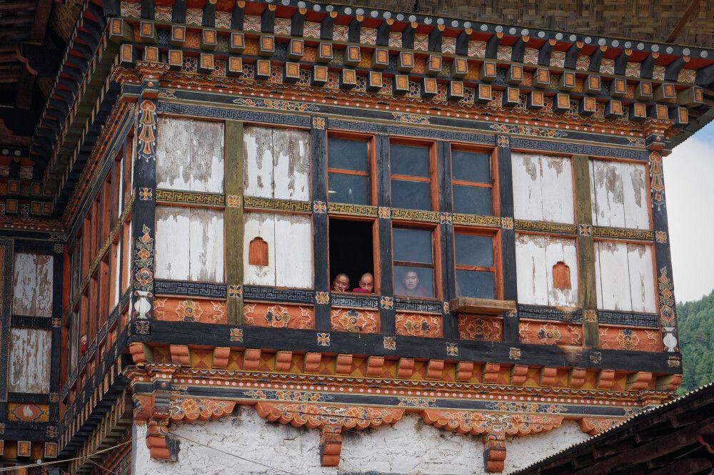 Kloster Thangbi Goemba im Bumthang-Tal