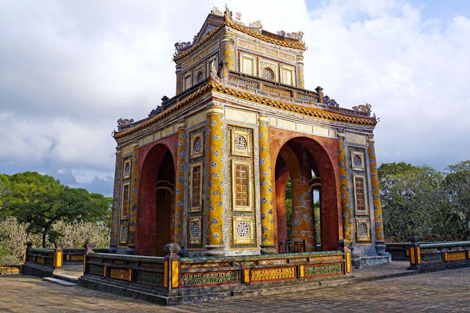 Mausoleum des Kaisers Tu Duc in Hue