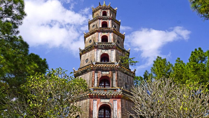 Thien-Mu-Pagode in Hue © Diamir