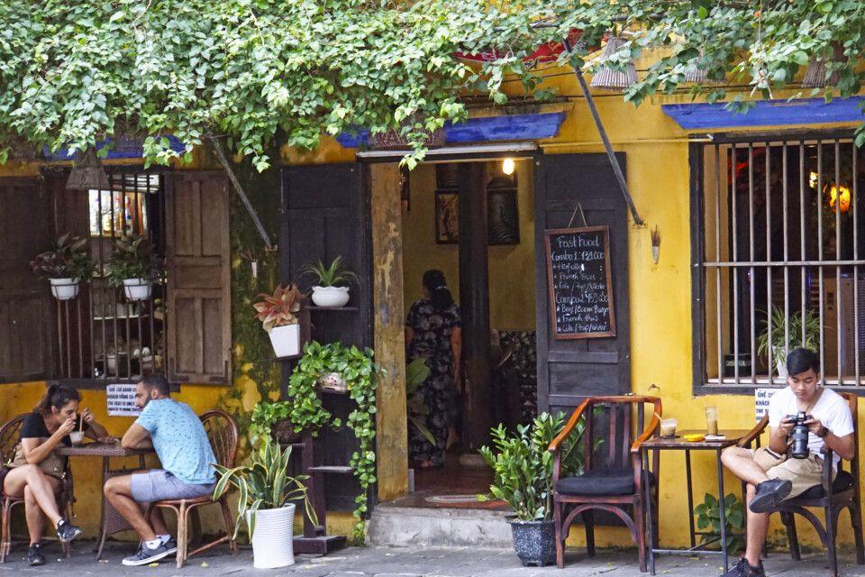 Straßenszene in Hoi An