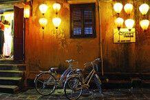 Malerische Abendstimmung in Hoi An