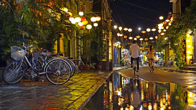 Nach dem Regen ist Hoi An doppelt so schön © Diamir