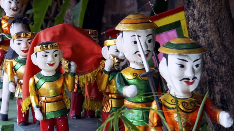Das Puppentheater hat in Vietnam lange Tradition © Diamir