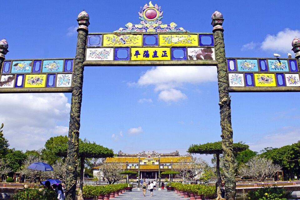 Die Verbotene Stadt in Hue