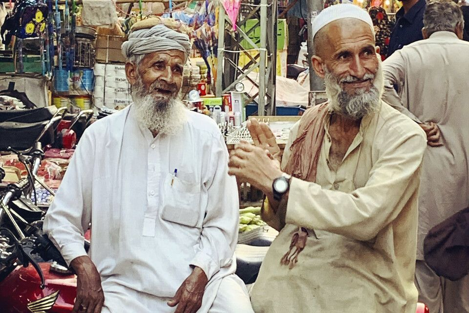Auf dem Basar in Rawalpindi