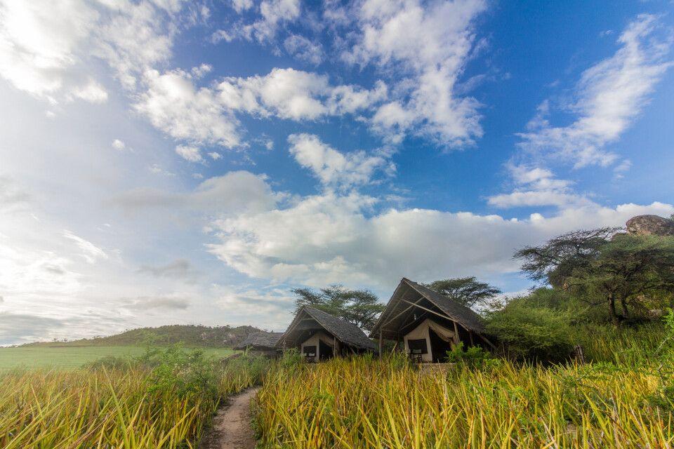 Olduvai Camp im Ngorongoro-Schutzgebiet, Tansania