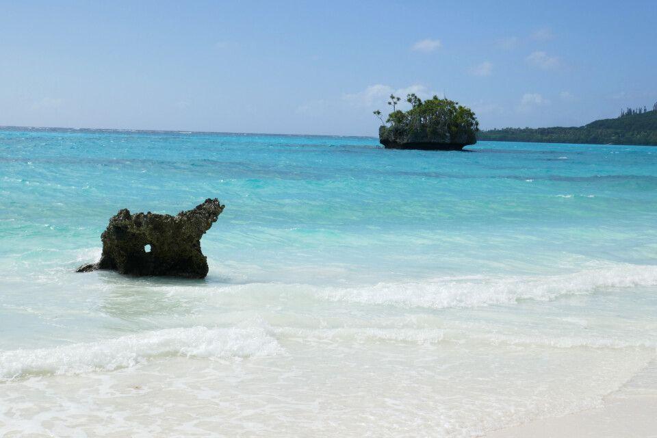 Auf der Insel Lifou - Traumstrand südlich vom Hotel Drehu Village
