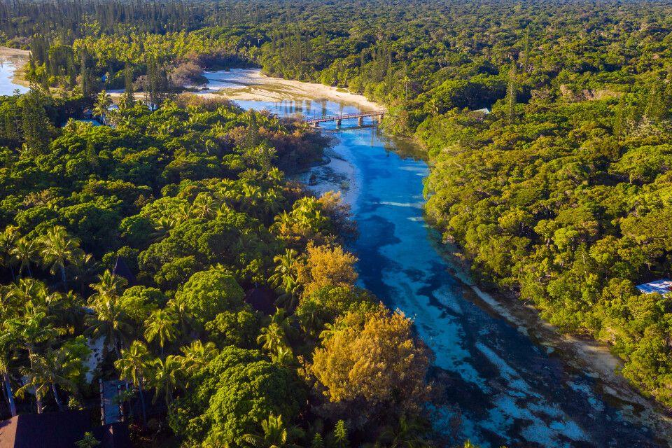 Fluss auf Neukaledonien