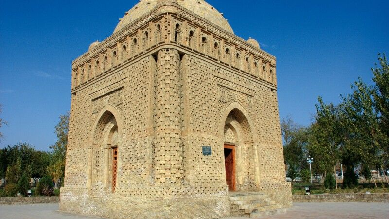 Samaniden Mausoleum in Buchara © Diamir