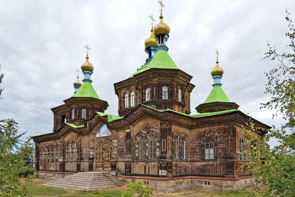 Karakul russisch-orthodoxe Kathedrale der Heiligen Dreieinigkeit