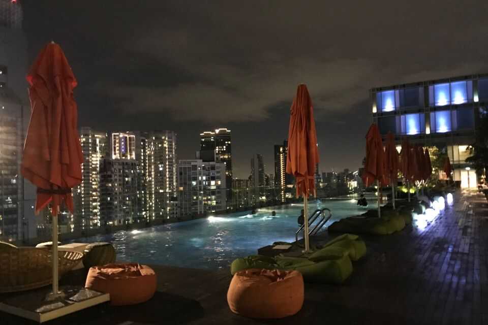 Singapur - Hotel Jen Orchard