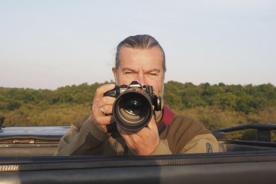 Jörg Ehrlich unterwegs in Kenia