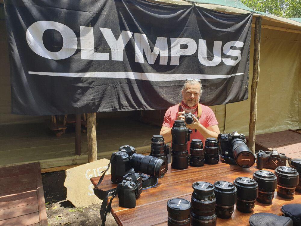 Bestens ausgerüstet mit dem Leihequipment von Olympus