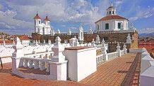 Blick über das Kloster San Felipe Neri