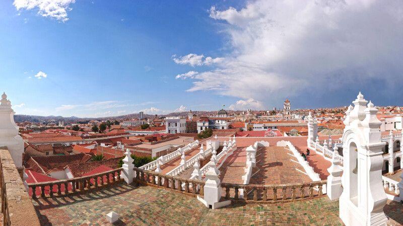 Ausblick über die weiße Stadt Sucre © Diamir