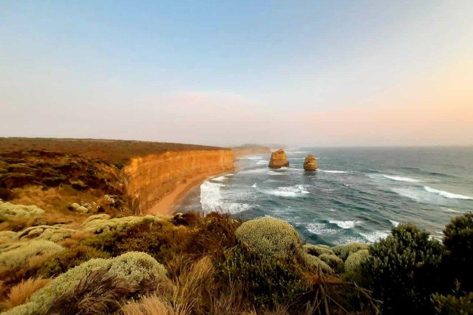 Die ikonischen 12 Apostel auf der Great Ocean Road