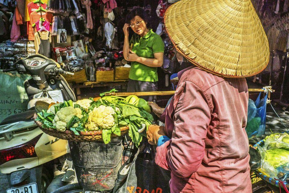 Unterwegs auf dem Markt