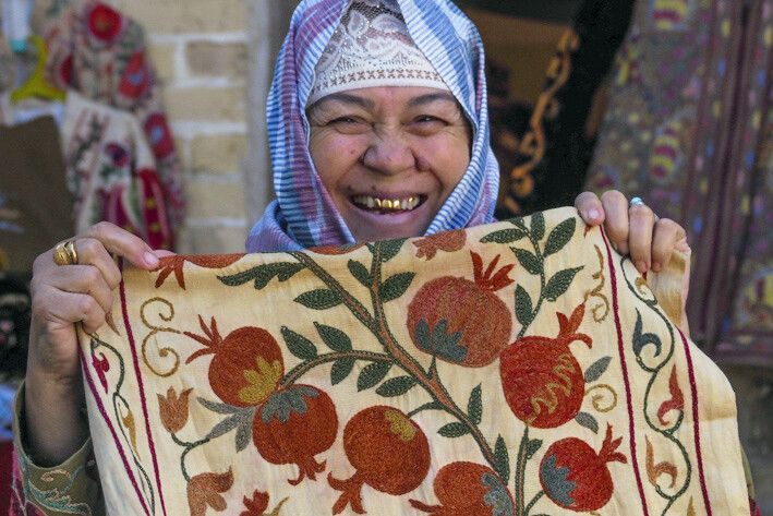 Textilverkauf