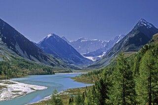 Altai Panorama mit Belucha