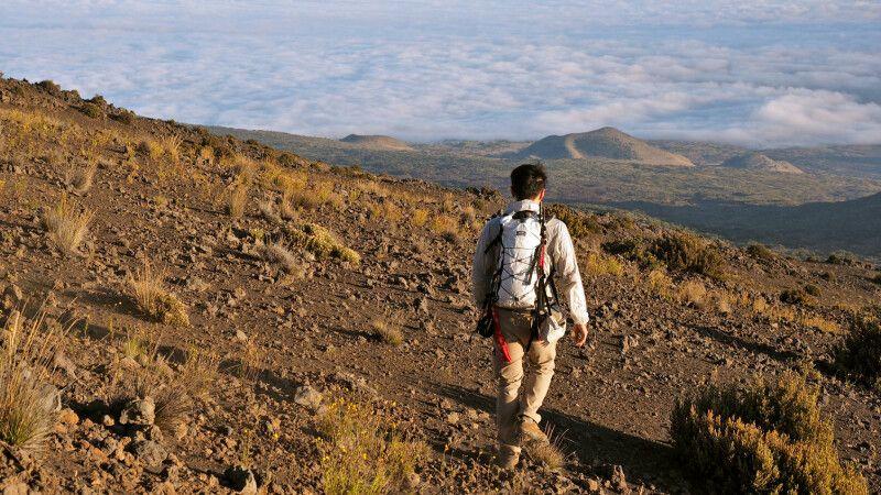 Wanderer Ma Mauna Kea, Big Island © Diamir