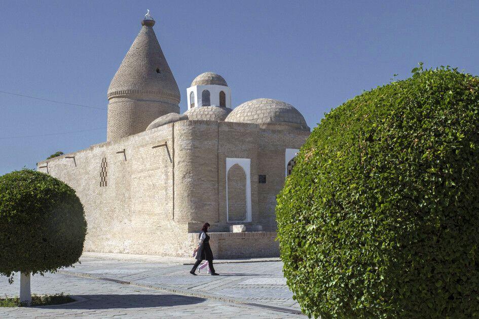 Mausoleum aus Ziegeln