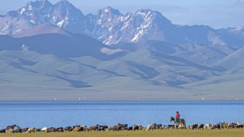 Viehzüchter am Son-Kul © Diamir