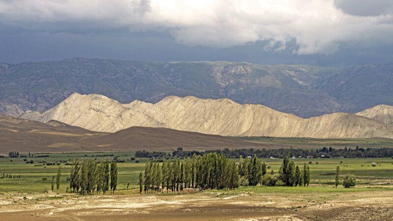 Weidelandschaft Kirgistan © Diamir