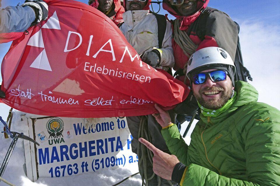 Mit 5109 Metern ist der Margherita Peak der höchste Punkt in Uganda.