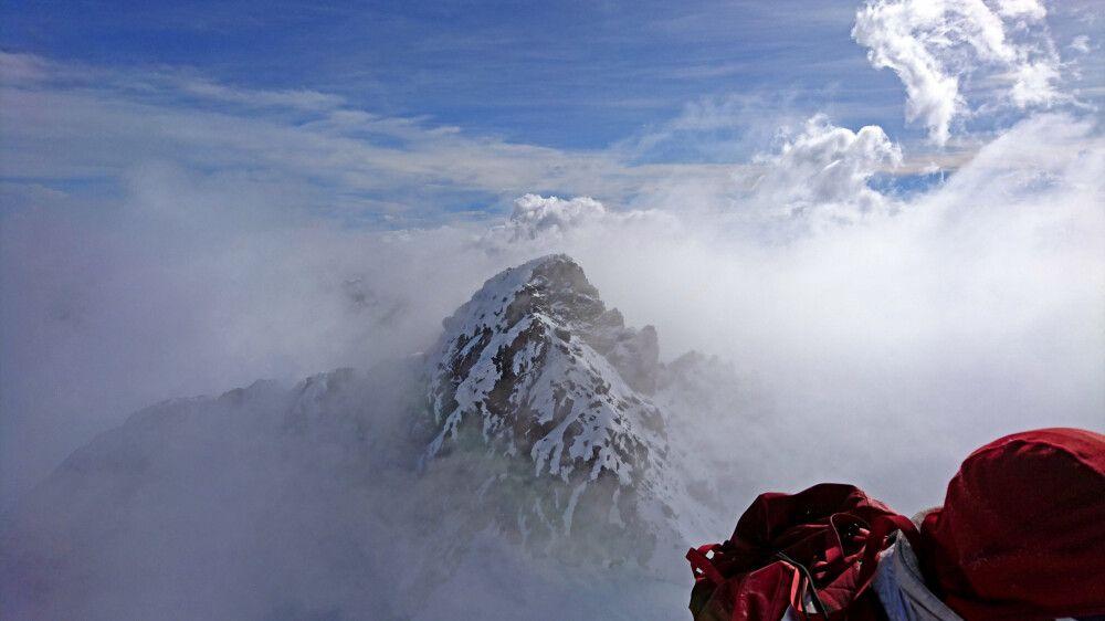 Der zweithöchste Gipfel des Mount Stanley (Alexandra Peak – 5091m)